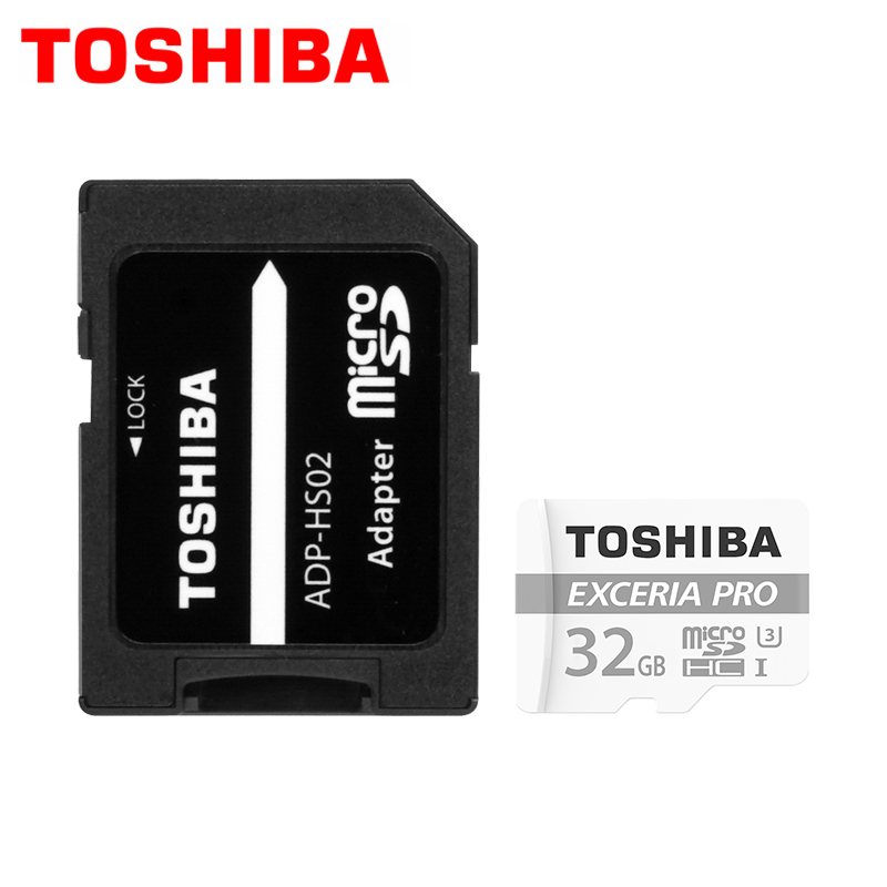 Toshiba micro SD TF UHS I 32 gb Read 95MB S Write 80MB s Compatible with