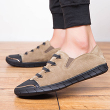 New Shoe Men Trend Breathable Edition Flat Bottom One Foot Pedal Recreational Joker To Prevent Smelly Man Lazy Person 5