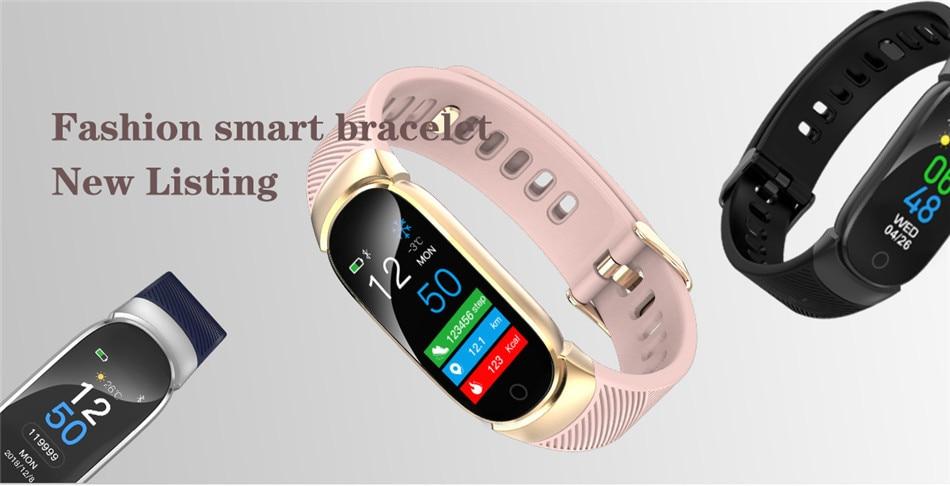 BANGWEI Women Sport Smart Watch Men LED Waterproof SmartWatch Heart Rate Blood Pressure Pedometer Watch Clock For Android iOS 7