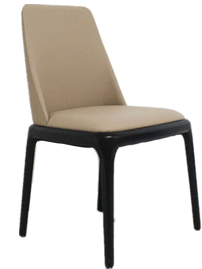 European household backrest solid wood dining chair chair elegant chair linen eat chair sample the silver chair