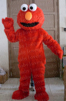 Red Elmo Mascot Costume Halloween Costumes Party Costume Dinosaurs Fancy Dress Christmas Gift