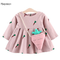 Princess Baby Girl Dress 2017 Brand Kids Dresses For Girls Clothes Infant Girls Party 1 Year