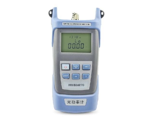 Medidor de potencia óptica Tester ftth fibra óptica - 70 ~ + 10 o - 50 ~ + 26 de fibra óptica medidor de potencia de láser de fibra óptica equipos