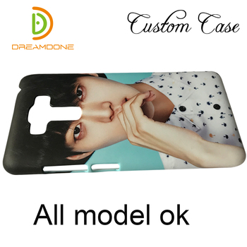 for Asus zenfone 5 max plus m1 zb602kl selfie zd551kl case customized 3d plastic hard cell phone cover personalized max pro case