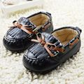Fashion Baby Shoes Moccasins Leather Fringe Slip-on Pure Solid Butterfly-knot Fringe Soft Bottom First Walkers  Baby Boy Shoes