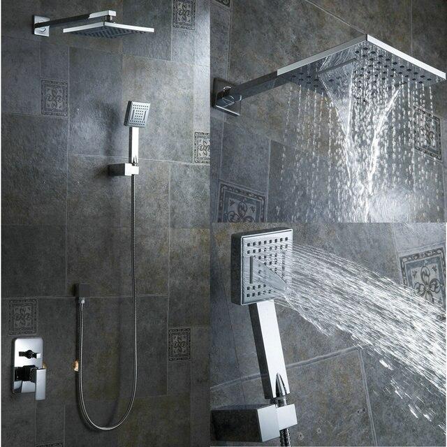 Nieuwe neerslag badkamer douche kit 8 inch douchekop luxe ...