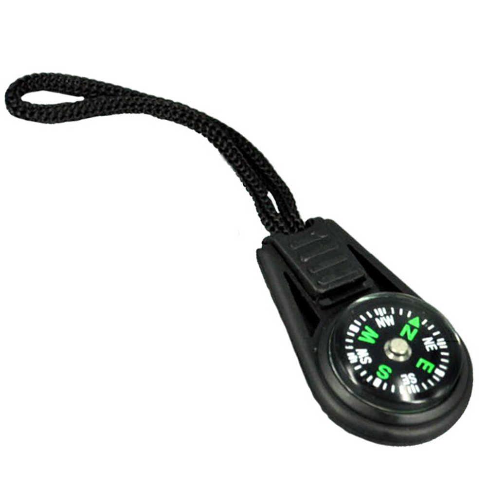 Мини-2 см 360 градусов Регулируемый руководящие навигатор для кемпинга обрушения пеший туризм с слинг/шнурки на открытом воздухе Инструменты #0117