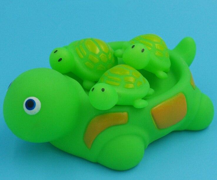 Educational enlightenment bath font b toys b font DIY Lovely turtle