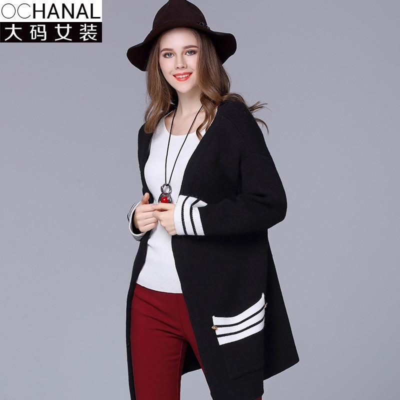 Large size cardigan women s clothing factory wholesale 2016 new winter wool cardigans women s sweater coat