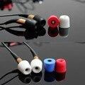 Replacement Headphone Earphone Soft Foam Sponge Ear Pad Cover Earbud (Red)