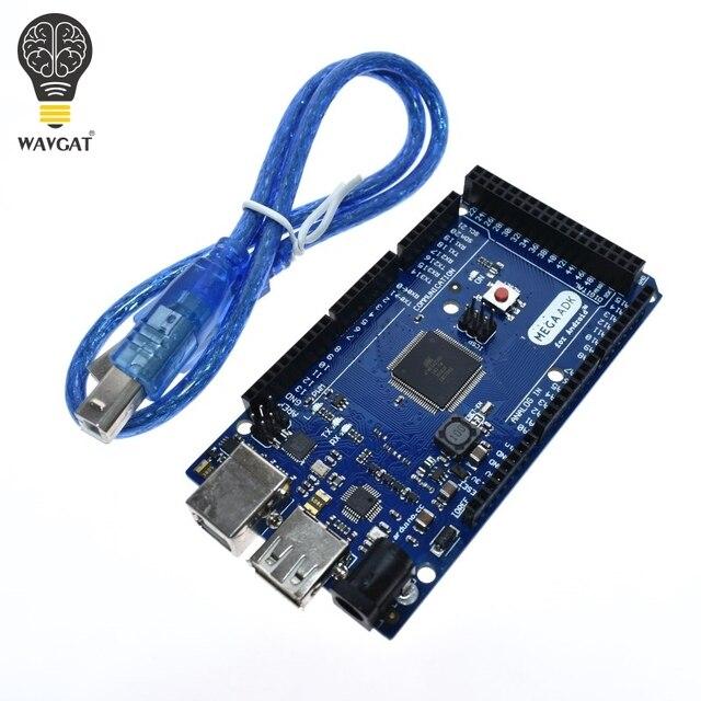 Wavgatメガ 2560 R3 16AUボード 2012 googleオープンadkメインボード (互換mega 2560 ATmega2560 16AU + usbケーブル