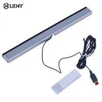 Substituição infravermelho tv ray com fio sensor remoto barra reciever indutor para nintendo para wii para console u