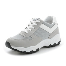 Outdoor Sneakers for Women Flat Casual Walking Shoes Spring new fashion Lightweight Breathable pu and mesh black Girl