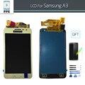 Жк-Дисплей С Сенсорным Экраном Дигитайзер Для Samsung galaxy A3 2015 ЖК в Комплекте С Home Button A300 A300X A300H A3000 A300F