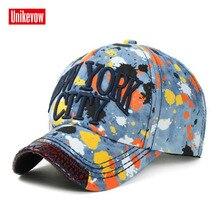 1Piece NEW YORK CITY denim baseball cap washed hat