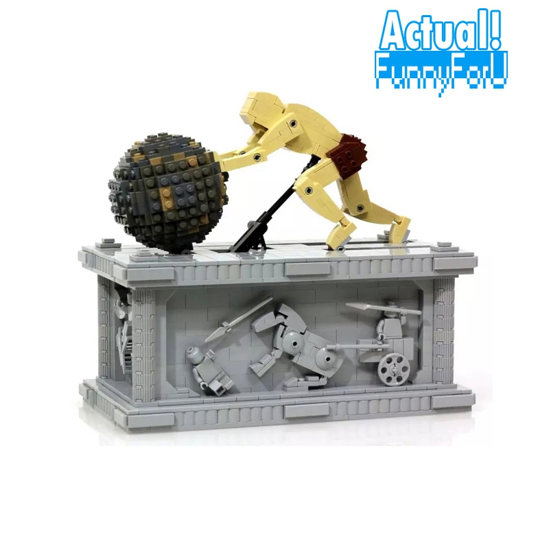 In-Stock 23017 1462Pcs Genuine Technic Series The MOC Sisyphus Moving Set 1518 LEPIN Building Blocks Bricks Toys INGly new lepin 23017 1462pcs movie series moc le mythe de sisyphe building blocks bricks to holiday toys gift