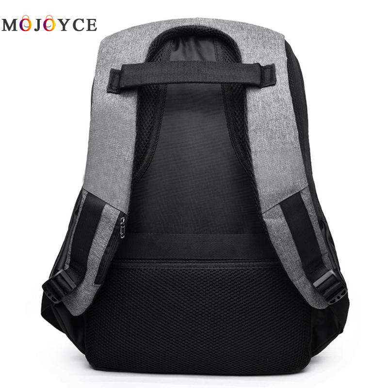 Men Laptop Backpack Teenage Casual Usb Charging Anti Thief Canvas Rucksacks School Backpack Satchel Mochila Masculina #5
