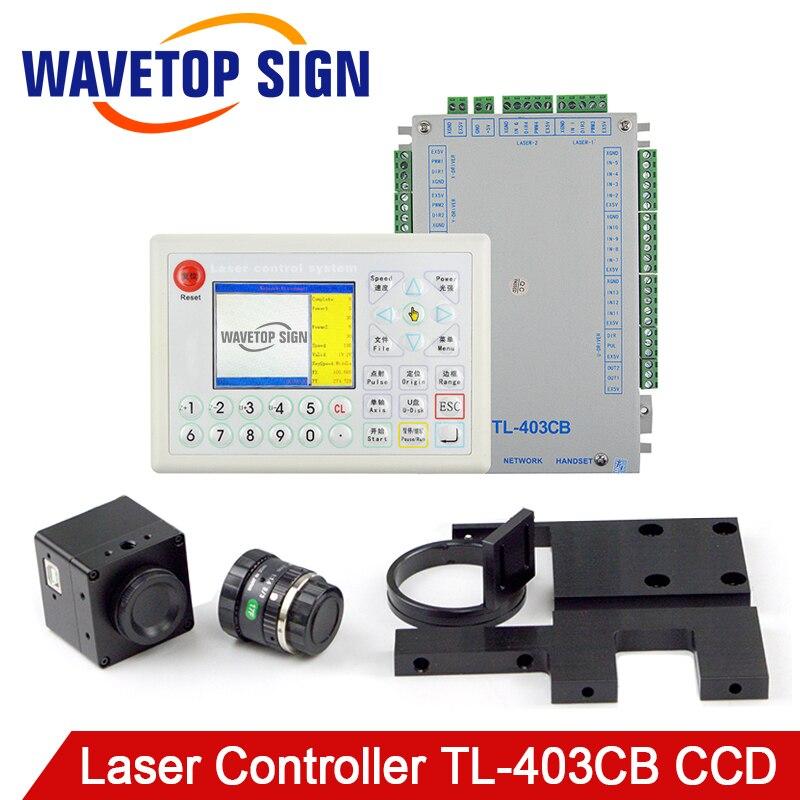 TL-403CB Controllore Del Laser Della Macchina Fotografica + Scheda di Controllo + LCD + Cavo di Ricamo uso Industriale per il Taglio Laser e Incisione Laser macchina
