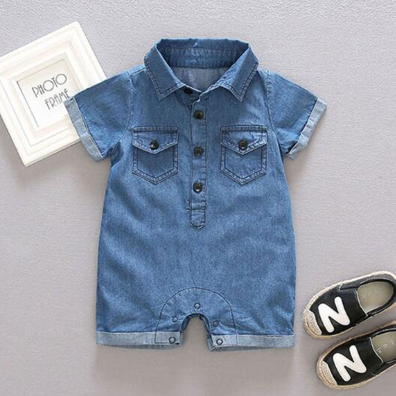 Fashion Cotton Rompers For Newborn Baby Boy Bow Decoration Child Clothes Summer Outerwear Jumpsuit Infant Bebe Birthday Cloth newborn baby rompers baby clothing 100% cotton infant jumpsuit ropa bebe long sleeve girl boys rompers costumes baby romper
