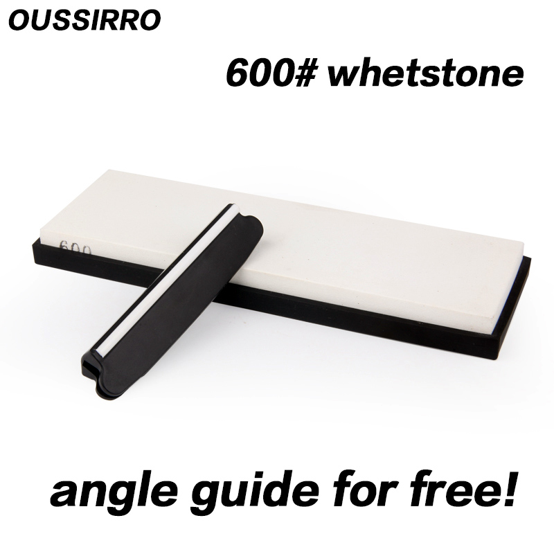 OUSSIRRO guide for free 600 grit professional whetstone knife <font><b>sharpener</b></font> kitchen tools knife stone sharpening for knife <font><b>angle</b></font>