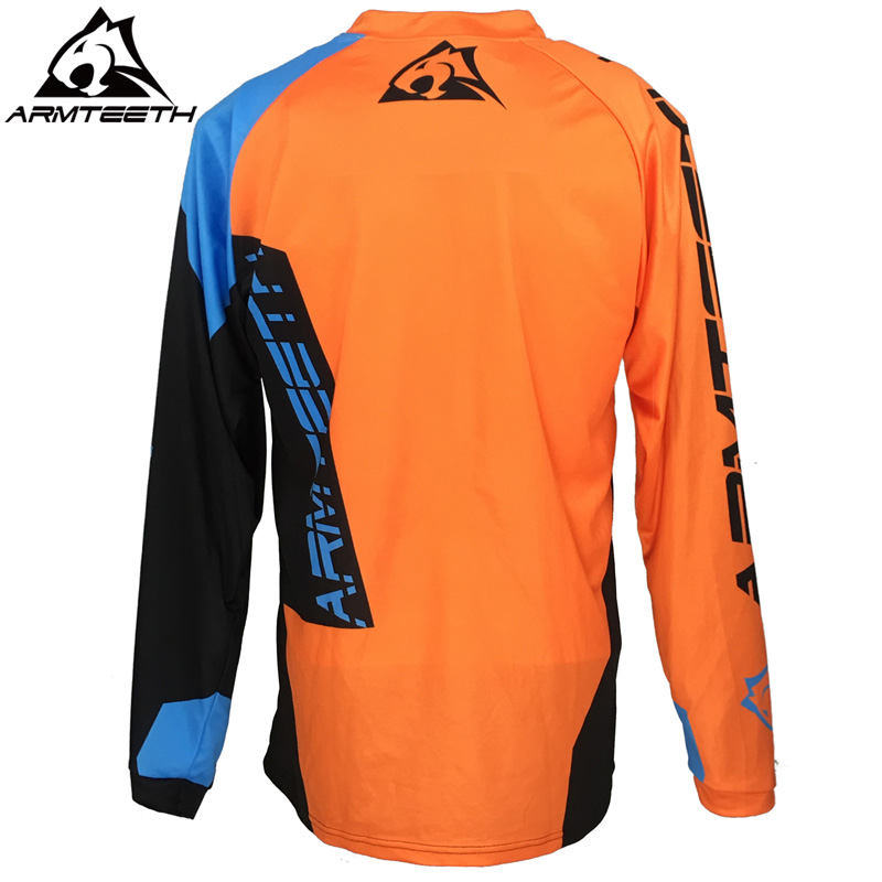 e6d217435eb 2018 Armteeth Motocross Jersey MX MTB Off Road Mountain Bike DH Bicycle  Jersey BMX Motorbike Shirts-in Cycling Jerseys from Sports   Entertainment  on ...