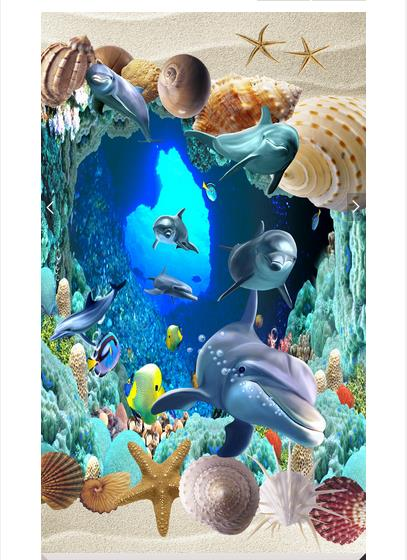 3d wallpaper customized 3d floor painting wallpaper murals Marine dolphin 3D floor painting wall 3d living room photo wallpaer book knowledge power channel creative 3d large mural wallpaper 3d bedroom living room tv backdrop painting wallpaper