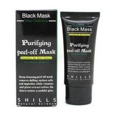 Purificação Limpeza Profunda Peel-off Máscara Preta Máscara de Cuidados Com A Pele Tratamento Facial Epacket transporte da gota(China (Mainland))