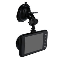 Car Camera 4'' LCD IPS Dual Lens Car Driving Recorder Dash Cam FHD 1080P Dashboard Camera 170° Driving DVR Dash Cam #N