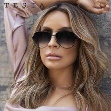 Classic Pilot Sunglasses Women Luxury Brand Designer Glasses Elegant Mirror