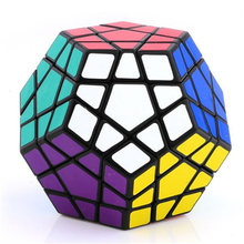 SHENGSHOU AND QIYI MEGAMINX MAGIC SPEED CUBE PUZZLE STICKER LESS COLORFUL CUBO MAGICO TOYS FOR CHILDREN