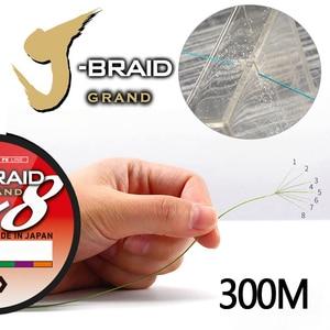 Image 4 - Najlepsza cena 300M DAIWA J BRAID GRAND pleciony PE linia super silny japonia żyłka żyłka pleciona hurtownia