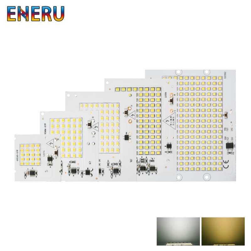 10W 20W 30W 50W 100W LED Chip SMD 2835 Flood Light Beads AC 220V-240V Led Floodlight Lamp DIY For Outdoor Lighting Spotlight