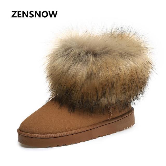 Bottes d'hiver givré courtes bottes chaussures ... NexXF