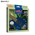 Профессиональные нити Alice A609C с цветным покрытием из медного сплава  электрические басовые струны  набор из 4 струн  оптовая продажа  Бесплат...