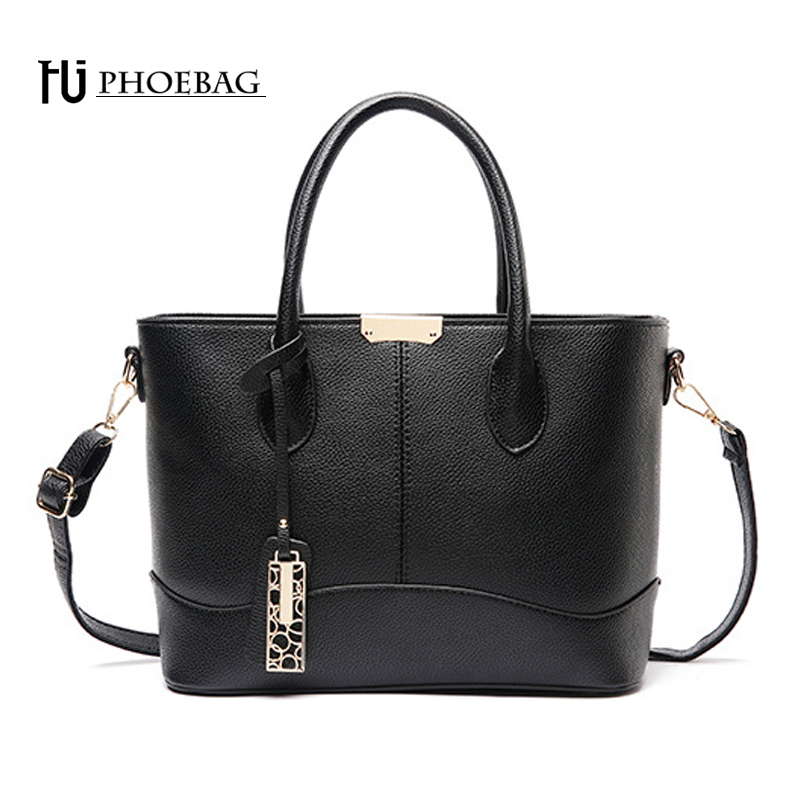 HJPHOEBAG Large Size Handbags Casual Tote bag for Women Messenger Bags Fashion P