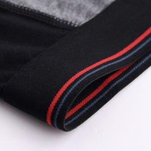 Image 4 - 3Pcs/lot Long Boxer Mens Underwear Boxers Hommes Cotton Panties For Man Underpants Men Cueca Masculina Plus Size Boxeshort