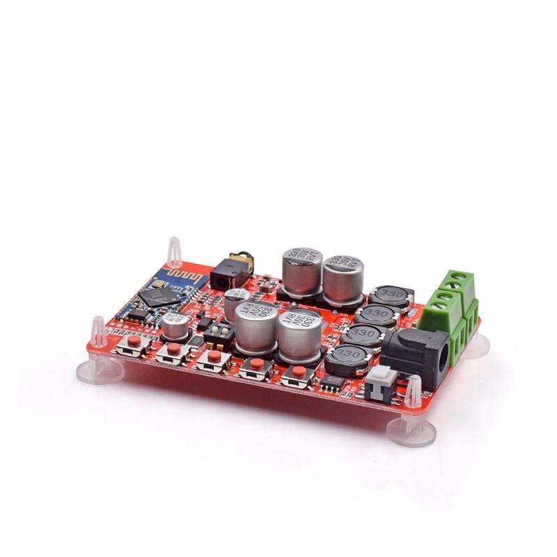 Wireless Bluetooth 4.0 Audio Receiver Digital TDA7492P 50W+50W Amplifier Board Part component HIFI amplificador Power AmplifiersWireless Bluetooth 4.0 Audio Receiver Digital TDA7492P 50W+50W Amplifier Board Part component HIFI amplificador Power Amplifiers