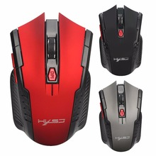 Wirless USB Gaming Mouse Optical Mice 2400DPI 8 Button for Laptop Desktops PC Computer Mouse for women men black red exclusive design miss mouse black red mouse pattern bare shoulder top mouse red pom pom short with matching accessories