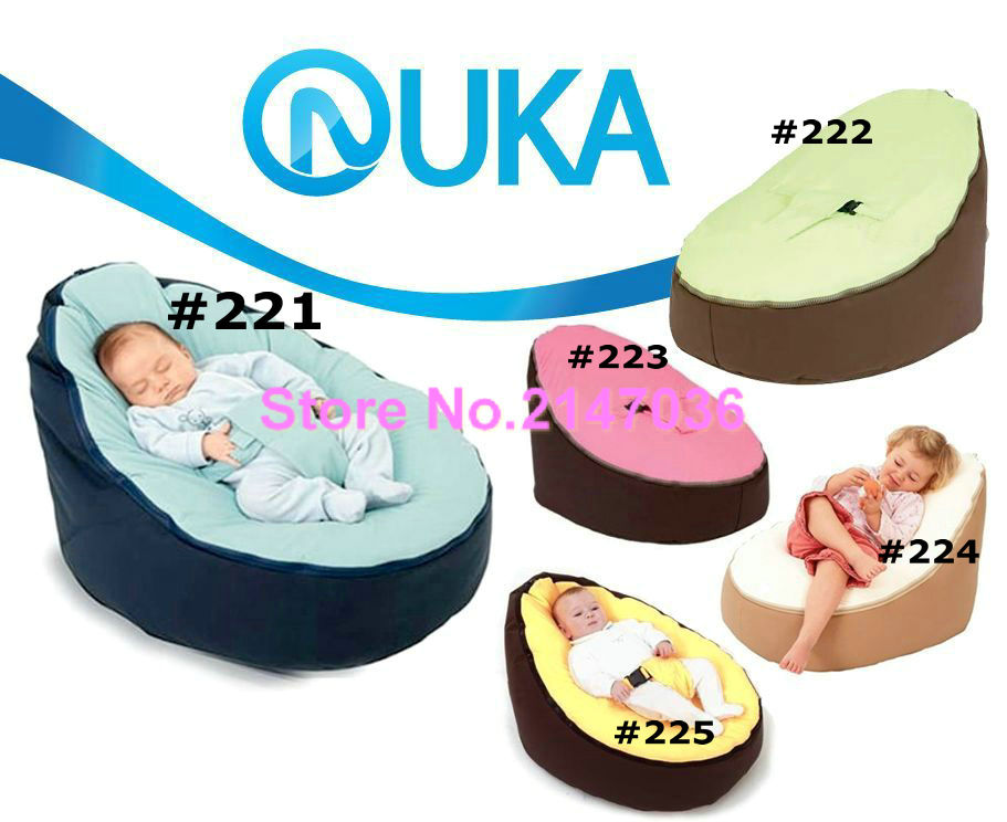 Babyboope New Born Bean Bag Snuggle Bed Portable Seat Nursery Baby Bed No Filler-Bean Bag Snuggle Bed seat 2 upper layers