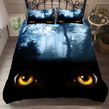Bedding Set 3D Printed Duvet Cover Bed Set Sea Fantasy Fairy Forest Home Textiles for Adults Bedclothes with Pillowcase #MJSL09 шторы тканевые seven fairy home textiles 6036 5