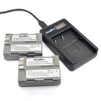 DuraPro 2 pz en-el3e en el3e Batteria + USB LCD Caricabatterie Per Nikon D70 D70S D80 D90 D100 D200 D300 D300S D700 Camera