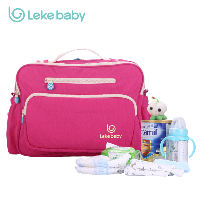 designer maternity bags a06y  LEKEBABY Fashion Baby Bags For Mom Tote Diaper Bag Organizer Design Nappy  Bags Maternity Handbag Baby