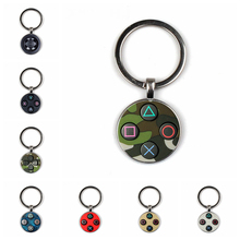 HOT! Game Controller Key Chain Playstation Perfect Gift Creative Jewelry Video Game Controller Pattern Keychain Gifts for Men hot game starcraft 2 zerg logo metal keychain for men jewelry