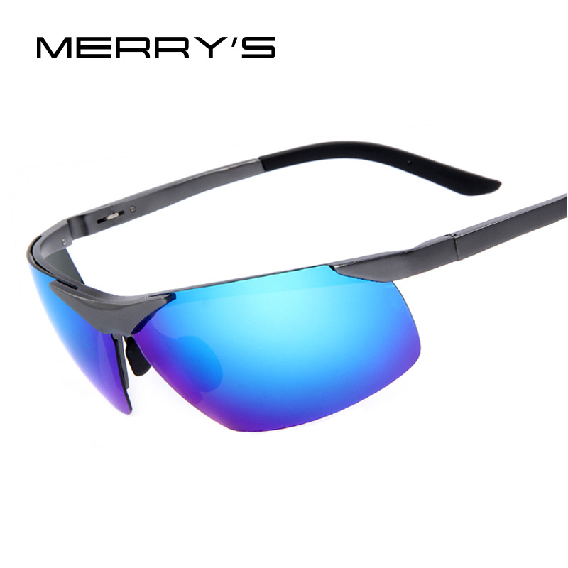 MERRY'S Men  Driving Polarized Sunglasses Aluminum Sunglasses Aluminum Alloy Frame Driving Sunglasses