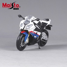 Maisto 1:12 motorcycle models for BMW S1000rr race car Diecast motorbike metal models kids toys for boys
