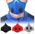 Bicicleta da Bicicleta Da Equitação PM2.5 Filtro de Proteção da Máscara de Poeira do Respirador Gás Cabeça