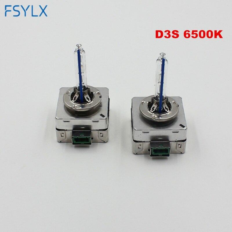 FSYLX 3800LM Sürətli başlanğıc D1S D3S HID ksenon fənər 35w - Avtomobil işıqları - Fotoqrafiya 4