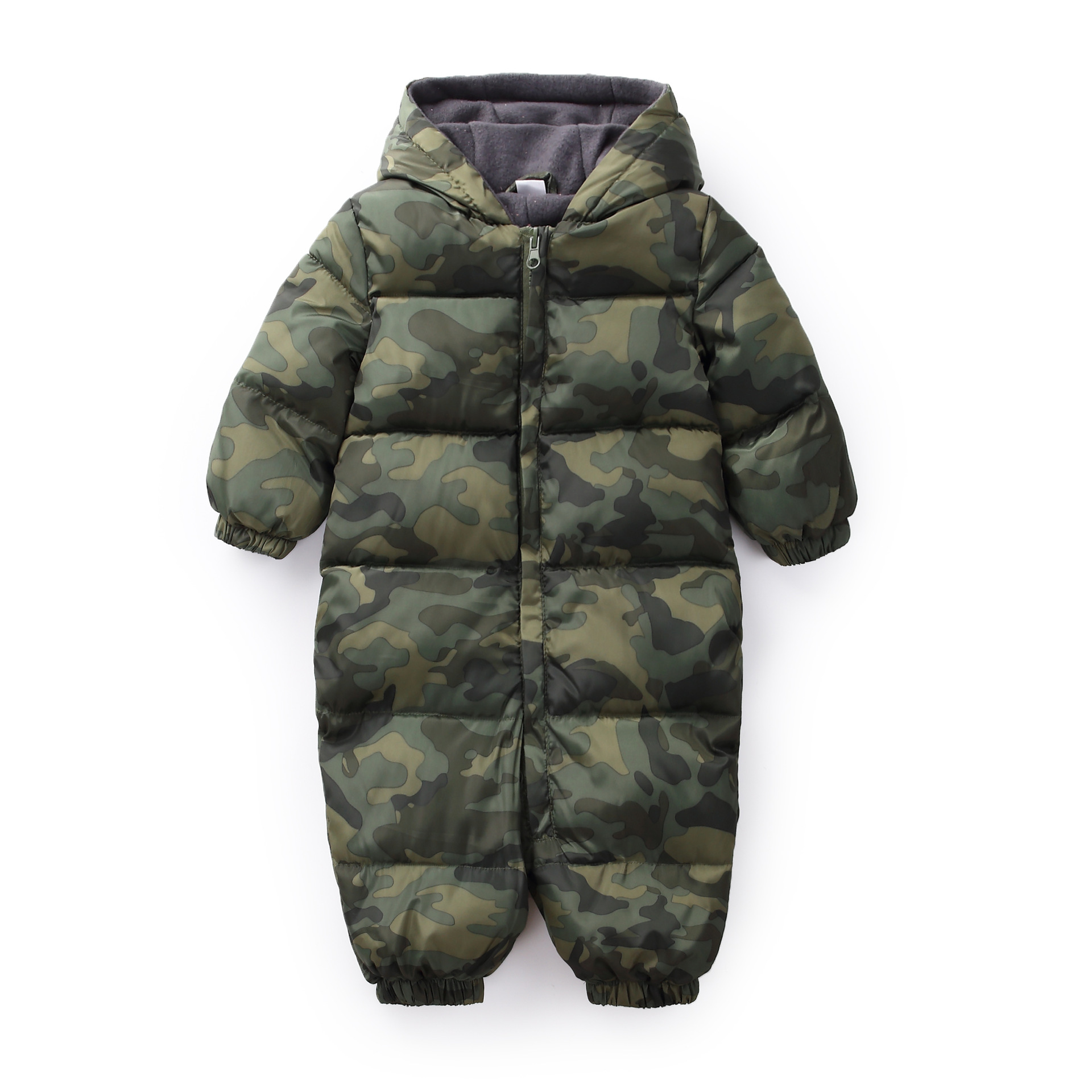 Baby Girls Boys Snowsuit Cotton Baby Rompers Hoodies Newborn Overalls Clothes Kid Toddler Jumpsuit 2018 Spring Winter Warm