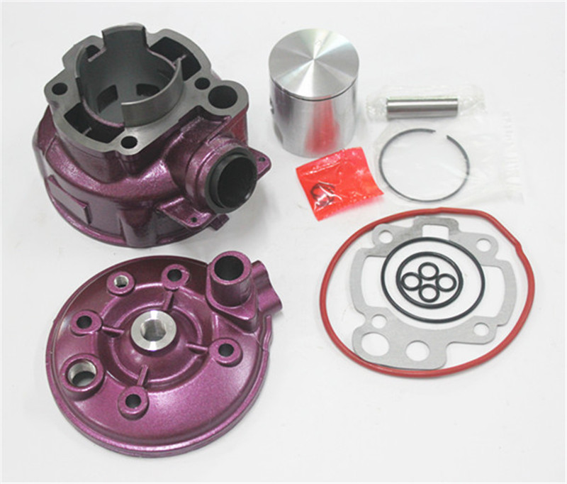 Cylindre AM6 49mm avec kit de piston AM3-AM6 TZR DT XP6 XR6 50 Cylindre de Piston Zylinder Kolben RACING 70 80 49mm