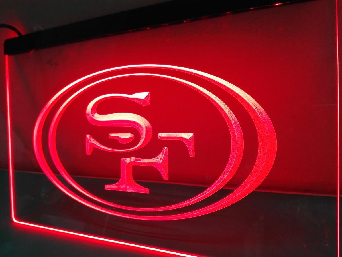 Ld057 San Francisco 49ers Football Led Neon Light Sign China Mainland